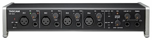 Внешняя звуковая карта Tascam US-4x4