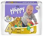 Bella Baby happy подгузники fun 4+ (9-20 кг) 12 шт.