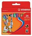 STABILO Восковые мелки Yippy-wax 24 цвета (2824)
