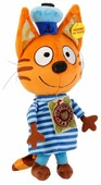 Мягкая игрушка Мульти-Пульти Три кота Коржик 18 см