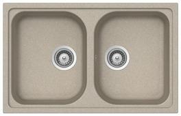 Врезная кухонная мойка TEKA Alba 80 B-TG 79х50см искусственный гранит