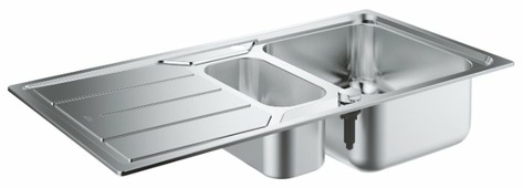 Врезная кухонная мойка Grohe K500 31572SD0