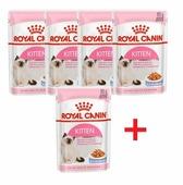 Корм для котят Royal Canin Instinctive мясное ассорти 85 г (кусочки в желе)