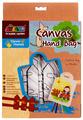 AVENIR Набор для раскрашивания сумки из холста Девочка (AL2005)