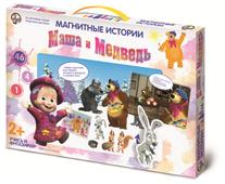 Развивающая игра Десятое королевство Магнитные истории. Маша и Медведь. Картина маслом 01575