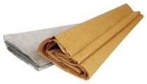 Цветная бумага крепированная золото/серебро Каляка-Маляка, 50х250 см, 2 л., 2 цв.