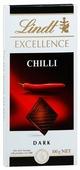 Шоколад Lindt Excellence темный с чили