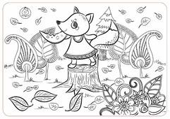 ЯиГрушка Коврик-раскраска Лисичка (маленький)