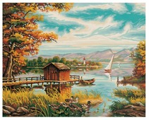 "Schipper Картина по номерам ""На берегу озера"" 40х50 см (9130377)"