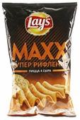 Lay's Чипсы Lay s Maxx картофельные Пицца 4 сыра рифленые