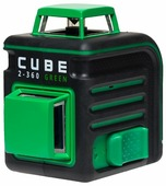 Лазерный уровень ADA instruments CUBE 2-360 Green Ultimate Edition (А00471)