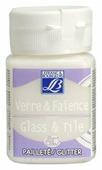 Краски LEFRANC & BOURGEOIS Glass&Tile Glitter 698 Кристалл LF211168 1 цв. (50 мл.)