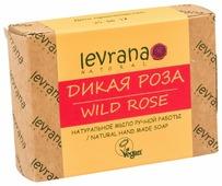 Мыло кусковое Levrana Дикая роза натуральное ручной работы