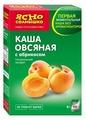 Ясно cолнышко Каша овсяная с абрикосом, порционная (6 шт.)
