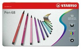 "STABILO Фломастеры ""Pen 68"" 50 шт. (6850-6)"