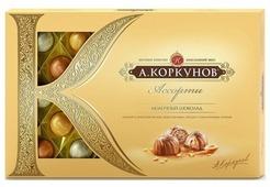 "Набор конфет Коркунов ""Ассорти"" молочный шоколад 256 г"