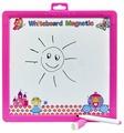 Доска для рисования детская Amico Часы двусторонняя (41810)