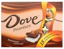 Набор конфет Dove Promises молочный шоколад 120 г