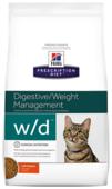 Корм для кошек Hill's Prescription Diet при проблемах с ЖКТ, при избыточном весе