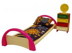 Форма Кровать с тумбочкой Кристина (С-50-Ф)