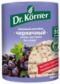 Хлебцы мультизлаковые Dr. Korner злаковый коктейль черничный 100 г
