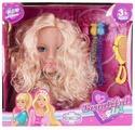 Кукла-манекен Игруша для создания причесок, 18 см, I-1093885