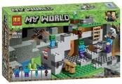 Конструктор BELA My World 10810 Пещера зомби