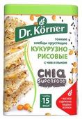 Хлебцы кукурузно-рисовые Dr. Korner с чиа и льном 100 г