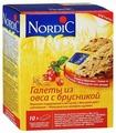 Галета Nordic из овса с брусникой, 10 шт