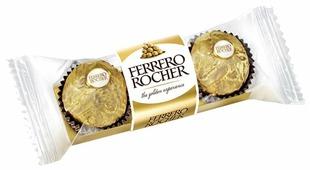 Конфеты Ferrero Rocher с лесным орехом