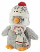 Игрушка-грелка Warmies Пингвин в шапочке 25 см