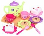 Набор продуктов с посудой Игруша Чаепитие gk-67c