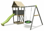 Домик Exit Toys Aksent с качелями-гнездо