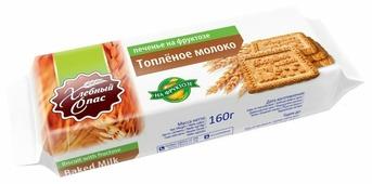Печенье Хлебный Спас Топлёное молоко на фруктозе, 160 г