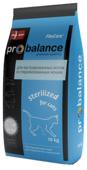 Корм для кошек Probalance Sterilized 10 кг