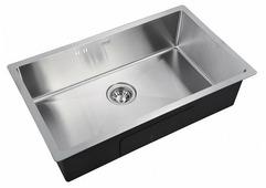 Врезная кухонная мойка ZorG INOX R-7444 74х44см нержавеющая сталь