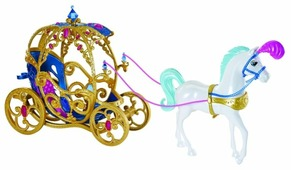 Hasbro Disney Princess лошадь с каретой для Золушки (CDC44)