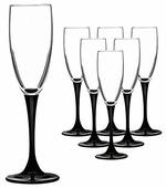 Luminarc Набор фужеров для шампанского Domino 170 мл 6 шт H8167