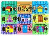 Бизиборд Wenzhou Magicolor Toys Дверцы на замочках