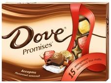 Набор конфет Dove Promises ассорти молочный шоколад 118 г