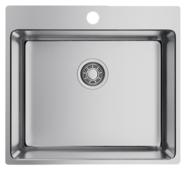 Врезная кухонная мойка OMOIKIRI Amadare 55-IN 55х50.5см нержавеющая сталь