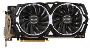 Видеокарта MSI GeForce GTX 1060 1506Mhz PCI-E 3.0 6144Mb 8008Mhz 192 bit DVI 2xHDMI HDCP ARMOR V1