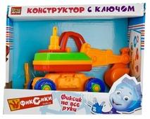 Винтовой конструктор ГОРОД МАСТЕРОВ Фиксики YC-4209-R Экскаватор с ключом