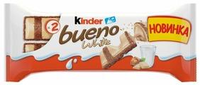 Батончик Kinder Bueno White, 39 г