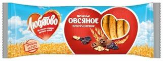 Печенье Любятово овсяное Классическое традиционное, 250 г