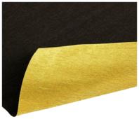 Цветная бумага крепированная двусторонняя металлизированная в рулоне 180 г Cartotecnica Rossi, 50х250 см, 1 л., 2 цв.