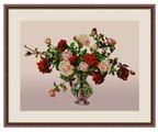 Galla Collection Набор для вышивания бисером Букет роз 40 х 30 см (Л329)
