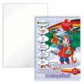 Белый картон В лесу Kids Series BRAUBERG, A3, 8 л.