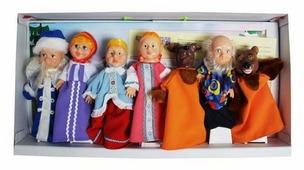 Весна Кукольный театр набор персонажей № 2 (B300)