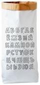 Мешок BRADEX Алфавит русский 90х50х13 см (PB 0002)